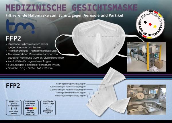 """FFP2 Maske """"Made in Germany"""""""