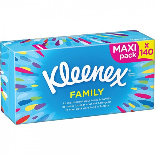 Kleenex Kosmetiktücher 140er Maxi Pack
